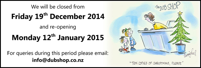 Christmas Closure Dates