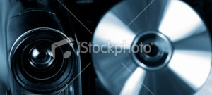 stock-photo-10016326-video-camera-and-disc